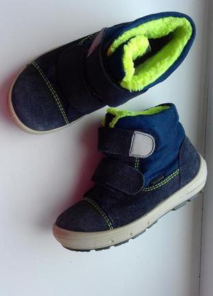 Термоботинки суперфит 26 р сапожки ботинки на липучке