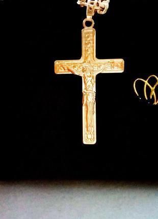 Позолоченный крестик, позолота