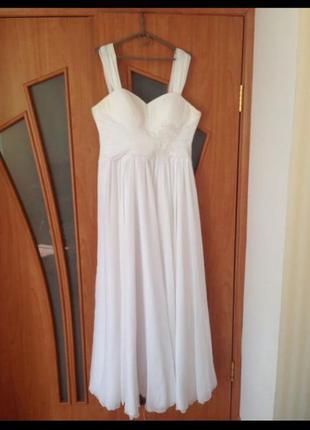 Срочно свадебное платье до 52 размера