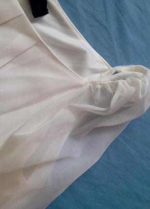 Нежное, легкое белое платье 12р3