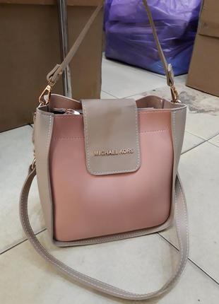 Оригинальная, комбинированная сумка среднего размера ,разные цвета