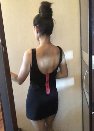 Длинная майка с открытой спинкой