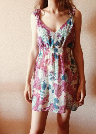 Летнее платье sela