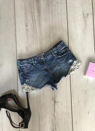 Крутые джинсовые шорты papaya