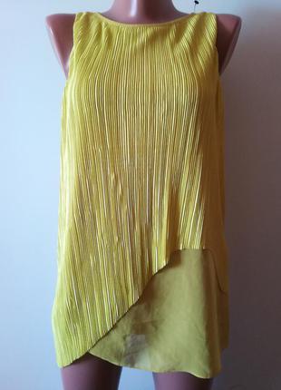 Трендовая блуза плиссе