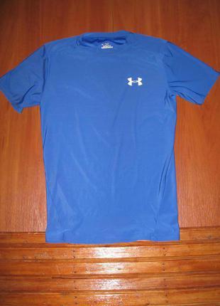 Термо футболка компрессионная спортивная логнслив under armour m\l