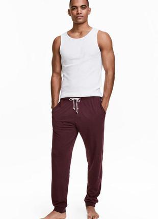Штаны брюки легкие домашние тонкие большого xl xxl большой размер пижама