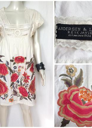 Красивое платье туника сарафан бохо boho
