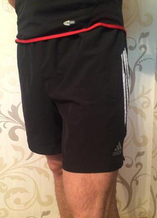 Спортивні тонкі шорти адідас adidas