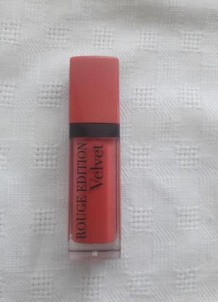 Помада bourjois rouge edition velvet