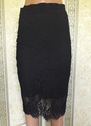 Нарядная юбка -миди.