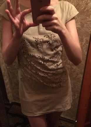 Платье с перфорацией от киры пластининой