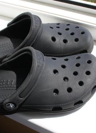 Мужские сабо кроксы crocs 38-39 размер (оригинал)
