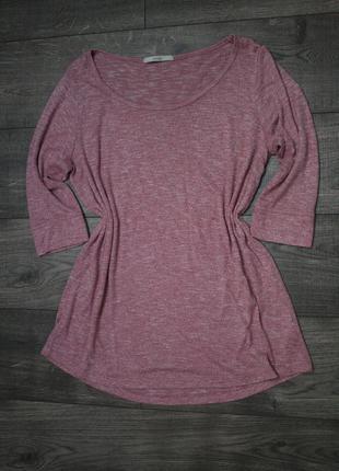 Стильная футболка туника - xl/xxl