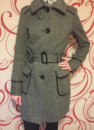 Пальто осеннее/зимнее драповое orsay