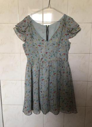Летнее платье от zara