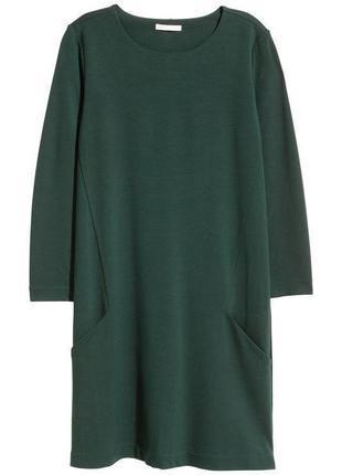Платье zara зеленого цвета