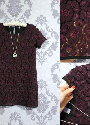 Цена 170 грн до 31 мая кружевное платье прямого кроя от next