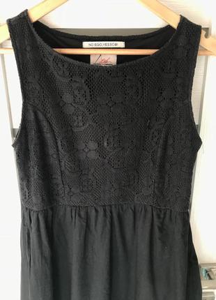 Платья  черное ltb