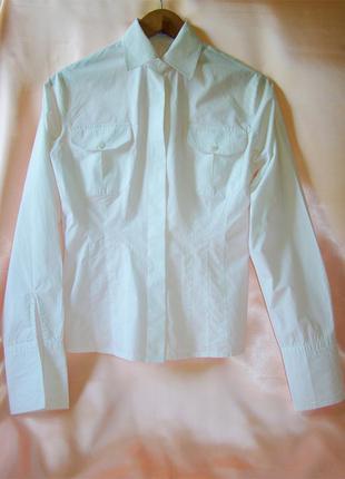 Блузка-рубашка pierre cardin под запонки