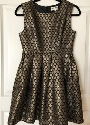 Очень красивое платье miu miu