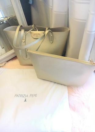 Patrizia pepe сумка-шопер