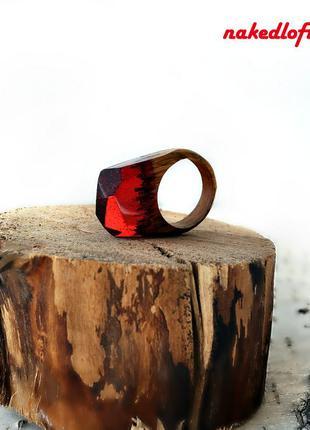 Авторское пейзажное кольцо. ручная работа