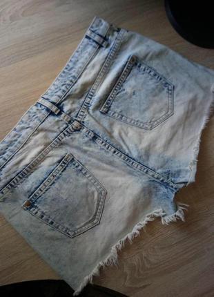 Модные шорты  mom с высокой талией