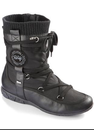 Утеплённые ботинки relife
