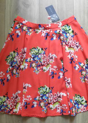 Красивенная, летняя, яркая юбка new look