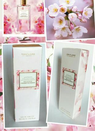 Туалетная вода women's collection delicate cherry blossom