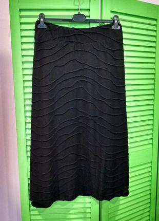 Фирменная юбка свободного кроя большого размера