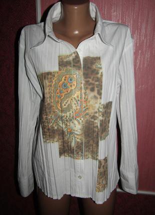 Блуза рубашка р-р хл/16 бренд biaggini