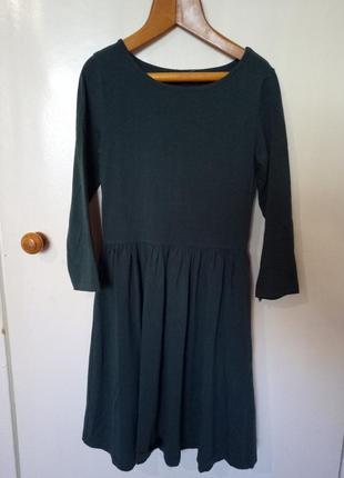 Базовое изумрудное платье asos