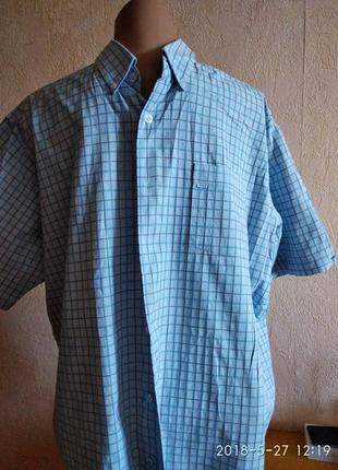 Рубашка легкая короткий рукав kickers, xxl