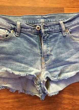 Шорты джинсовые короткие размер s размер 30