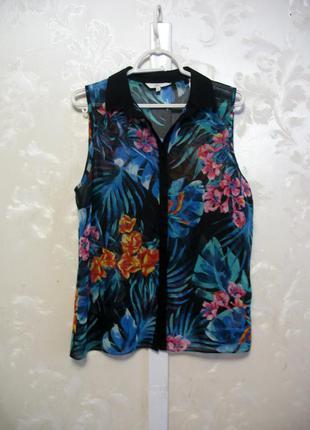 Блуза без рукавов new look