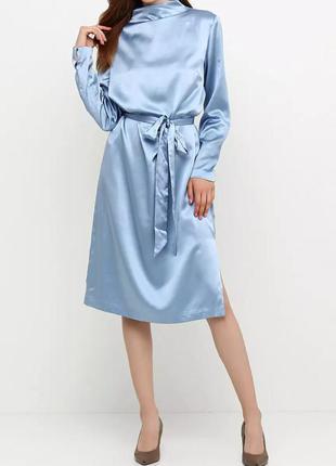 Элегантное шёлковое платье от h&m. 100% шёлк!