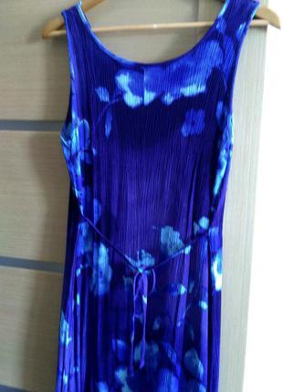 Длинное платье из вискозы