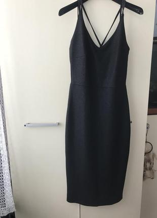 Нарядное миди платье футляр reserved
