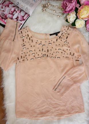 Изумительная декорированная блуза oasis