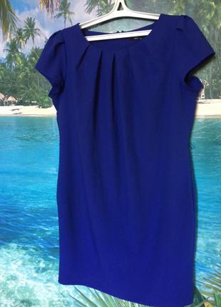 Сукня ділова королівського синього кольору