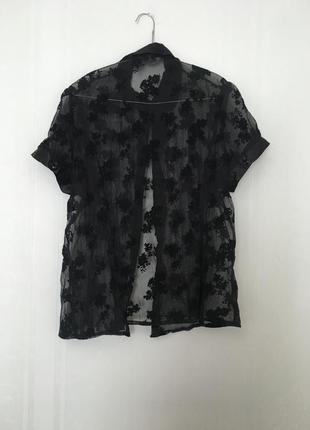 Гипюровая блузка new look
