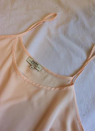 Нежная шифоновая майка, блузка