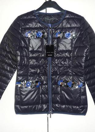 Куртка женская twin-set италия, р.s. новый жакет simona barbieri
