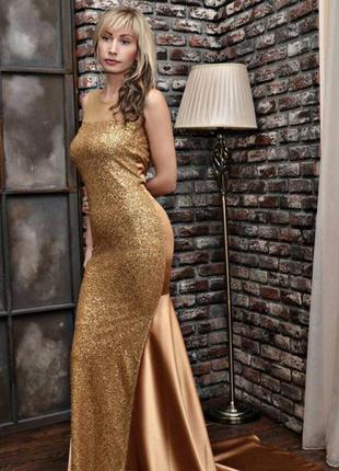 Шикарное авторское вечернее платье / на выпускной !