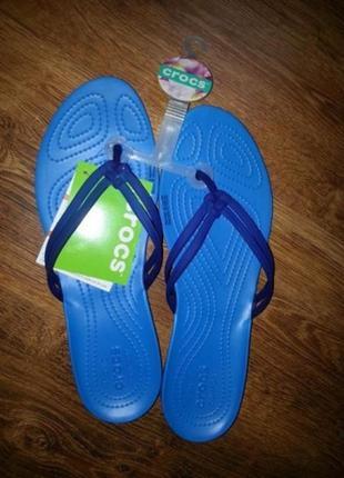 Женские вьетнамки crocs крокс