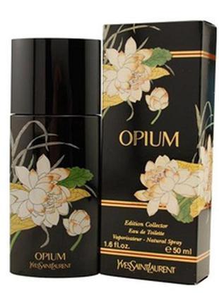 Опиум yves saint laurent opium oriental limited edition винтаж 50 мл1 фото