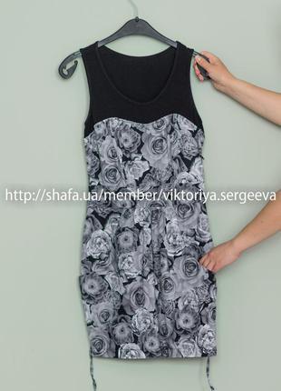 Большой выбор платьев - очень красивое хлопковое платье мини