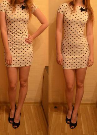 Фірмове трикотажне плаття\коротка сукня